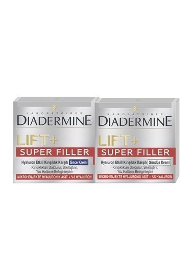 Diadermine Dıadermıne Lıft+Superfıller Gündüz Kremi 50 Ml + Gece Kremi 50 Ml Renksiz